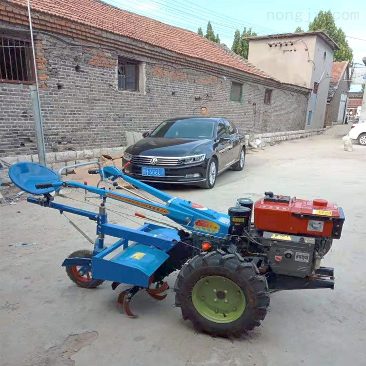 xnjx-10-8马力常州柴油手扶拖拉机 小型旋耕打田机
