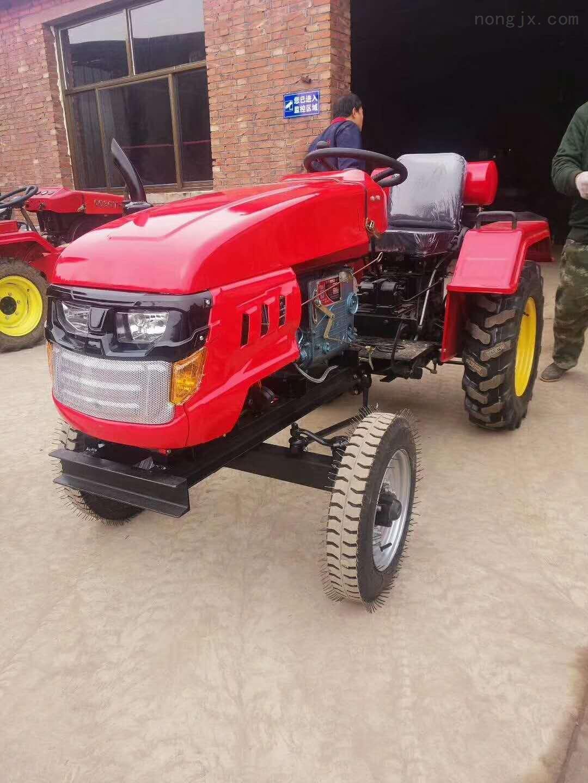 四驱动耕整拖拉机