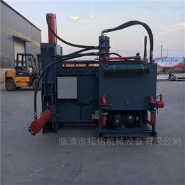 ZYD-100移动式玉米秸秆压块机 液压秸秆打包机视频