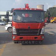 济宁东风4吨随车吊起重运输车蓝牌