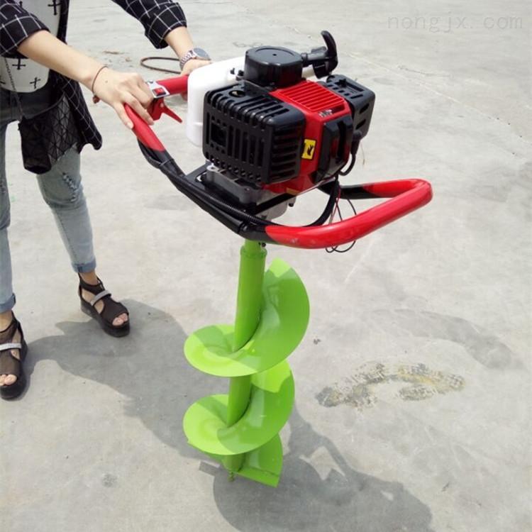汽油植树果园挖坑机