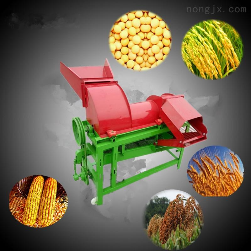 水稻高粱脱粒机家用电小型打麦机