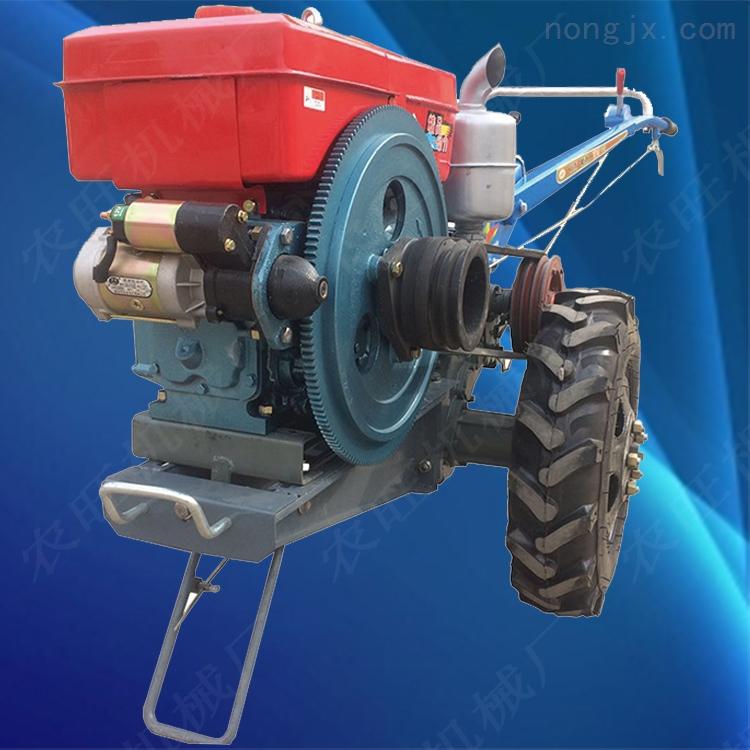 柴油耕地犁地机 多用途旋耕松土机 多功能手扶旋耕机
