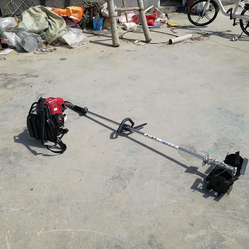 四冲程背负式多功能汽油割草机除草机