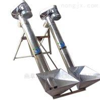垂直蛟龙式粮食上料机 不锈钢螺旋输送机