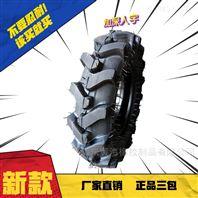 人字加深增强型手扶拖沓机轮胎包邮送内胎