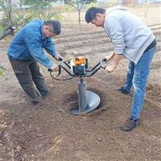 SL WKJ汽油手推式独轮挖坑机