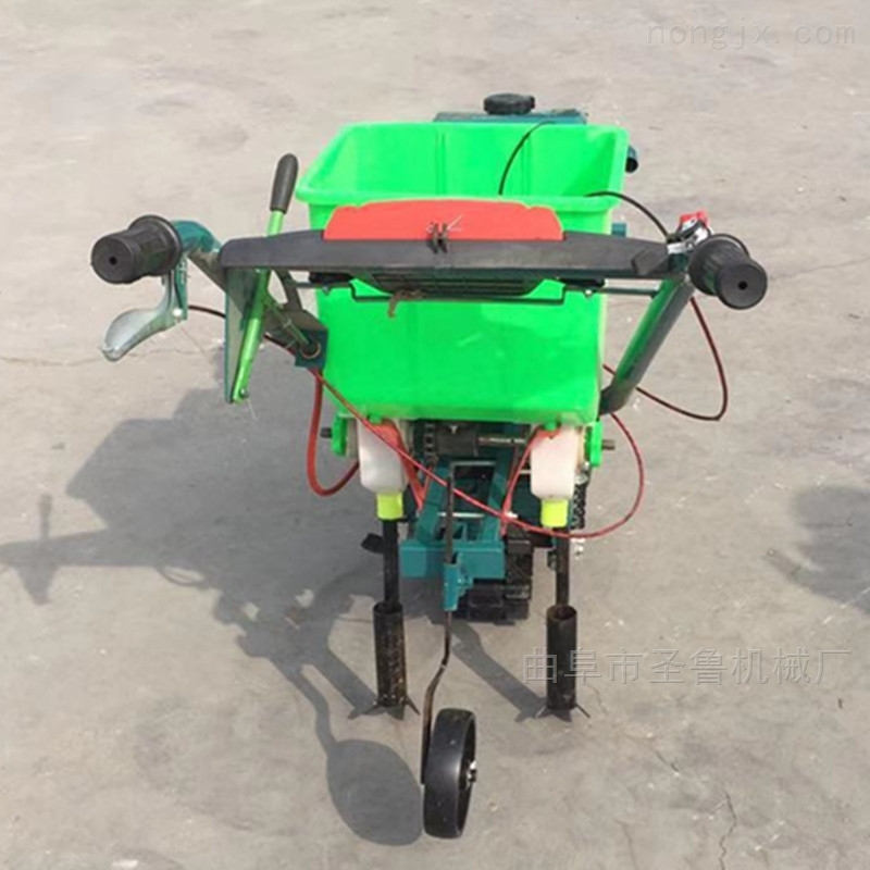 汽油3行大豆播种机自走式施肥精播机厂家