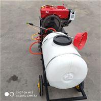 四冲程泵背负式园林果树喷粉农用打药机