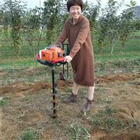 新型栽树挖坑机 单人操作植树打坑机厂家