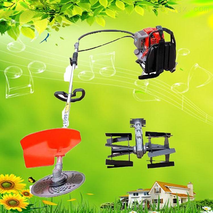 家用割草机视频 果园锄地松土机