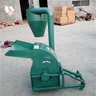 自动进料粉碎机 沙克龙稻草秸秆碎料机厂家