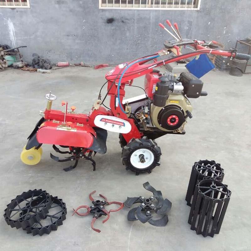 小型手扶式柴油微耕机 农用旋耕拖拉机
