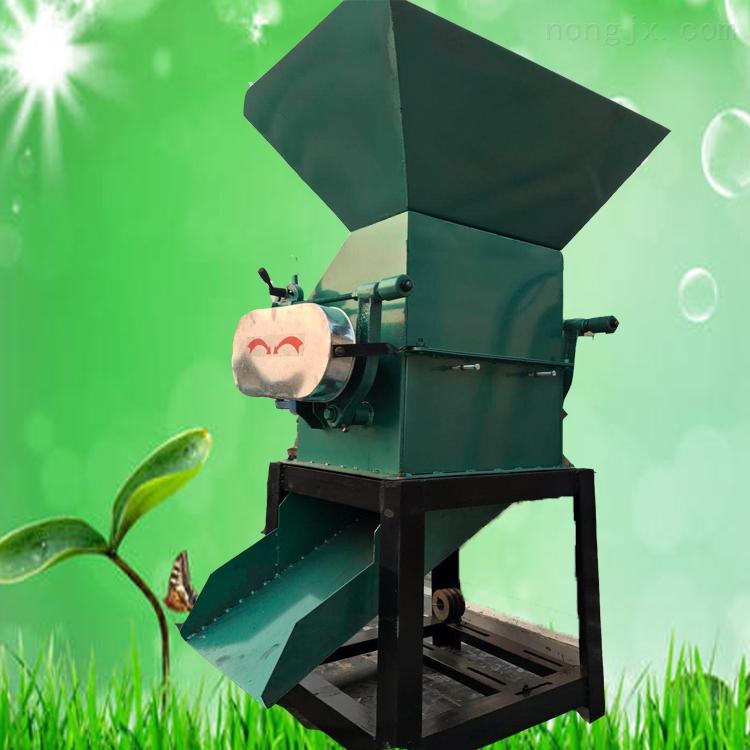 燕麦黄豆挤扁机 高粱花生压扁机