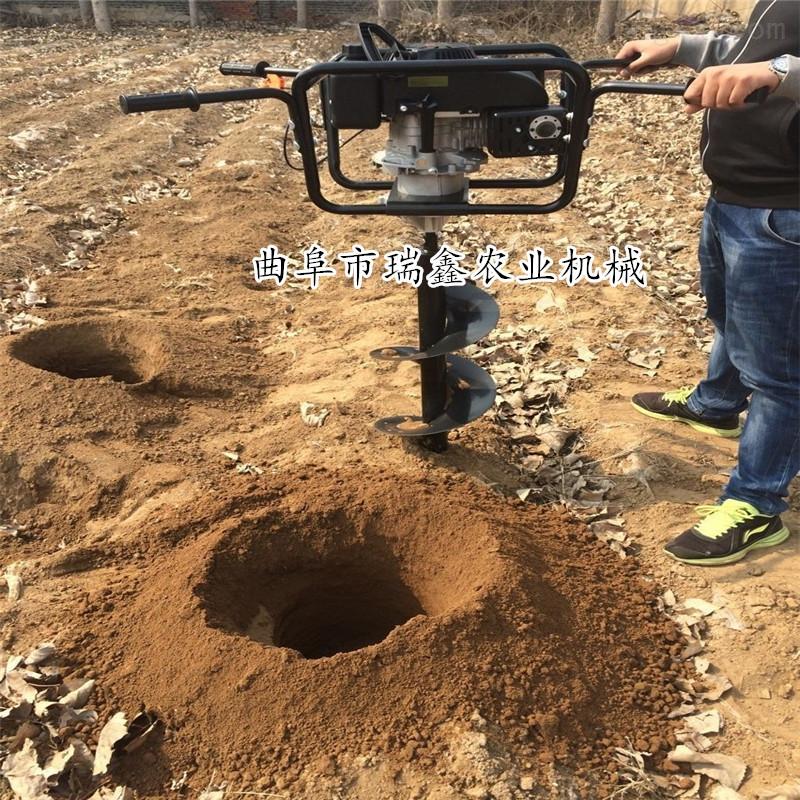 多用途栽树施肥挖坑机