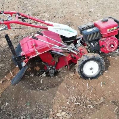 四驱果园专用小型开沟机 手扶式旋耕机