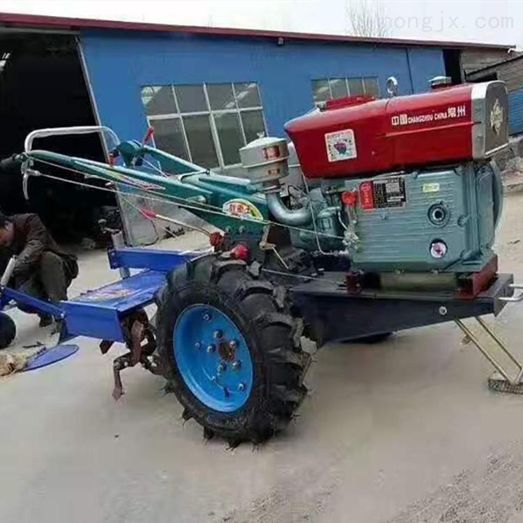 151地盘22马力带座椅手扶拖拉机旋耕机