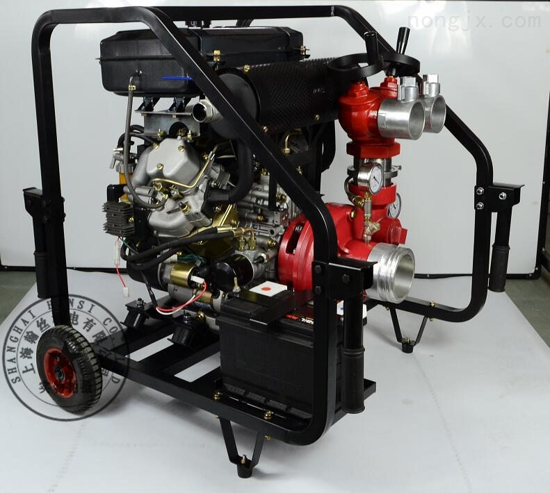 电启动3寸柴油消防用水泵