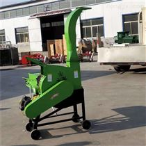 包谷杆铡草机自动进料秸秆切断机