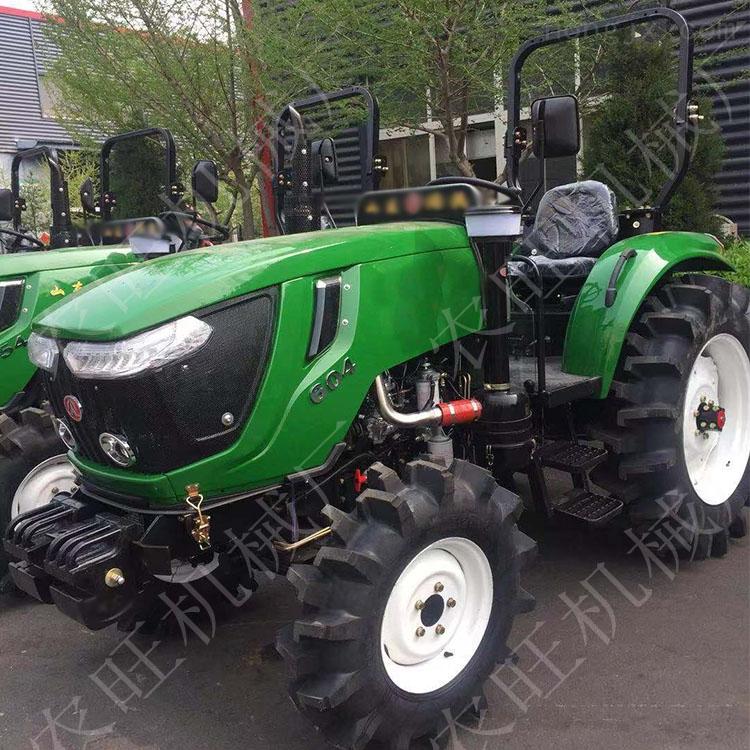 多缸四驱四轮旋耕开沟机 中型554农用拖拉机