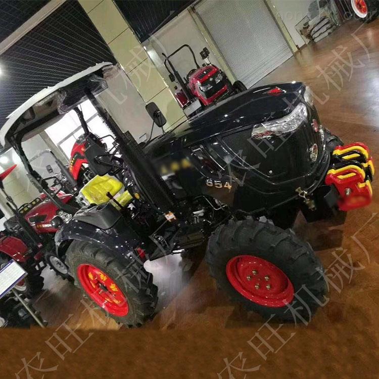 454多缸四驱拖拉机 果园山地大棚四轮旋耕机