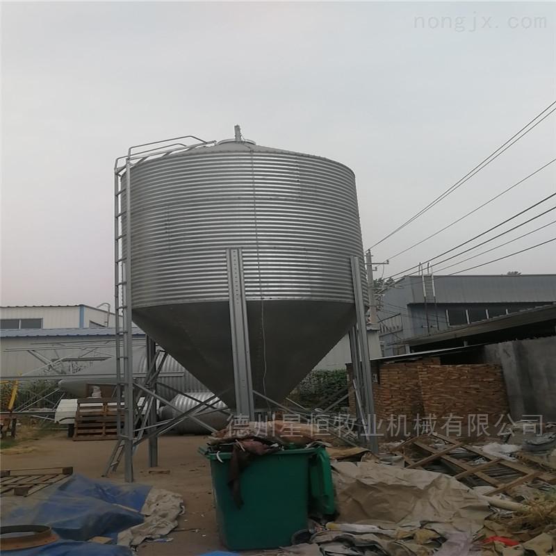 xh-3-南通星恒镀锌板养殖料塔规格厂家