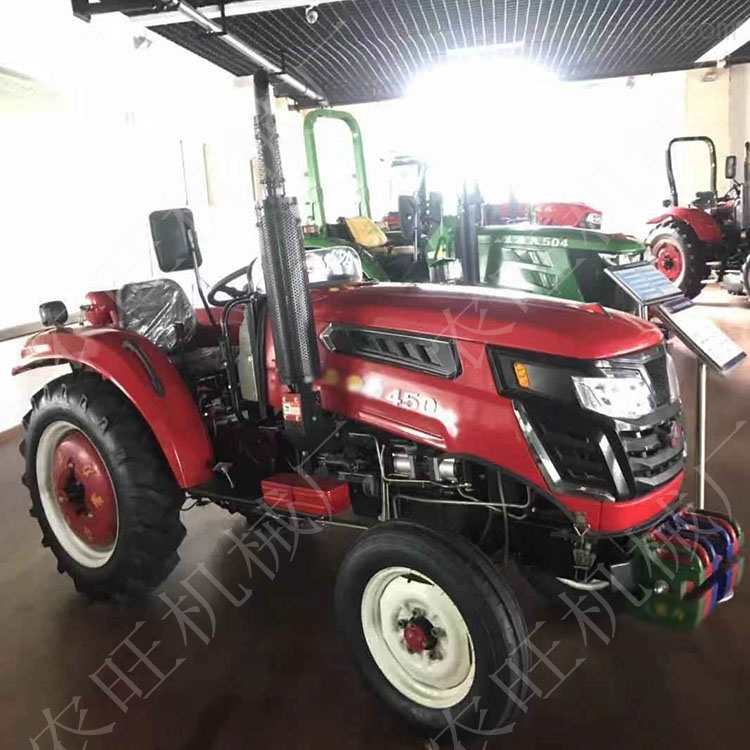 多缸动力四驱动拖拉机农用四轮旋耕犁地机