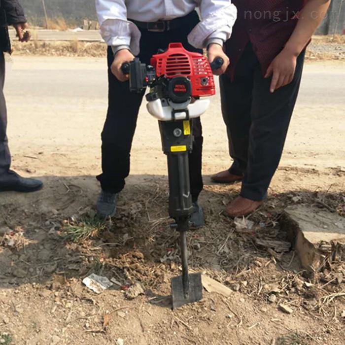单人手提式挖树机新型汽油起苗机