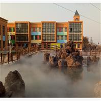 冷需系统之假山雾景