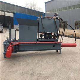 ZYD-100兴宁市秸秆回收压块机 大型玉米秸秆打包机