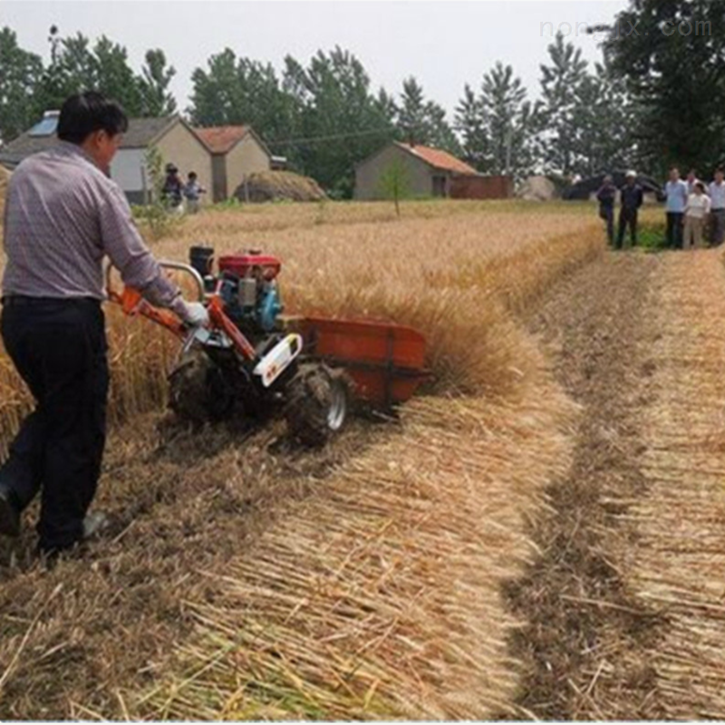 陕西家用小型小麦收割机