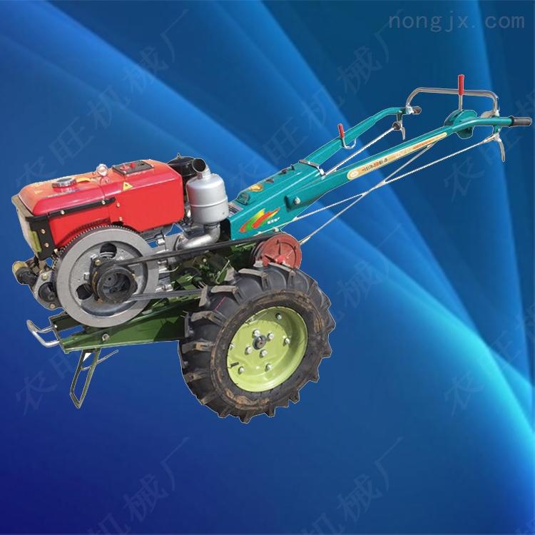 农用手扶旋耕犁地拖拉机 多功能山地手扶拖拉机