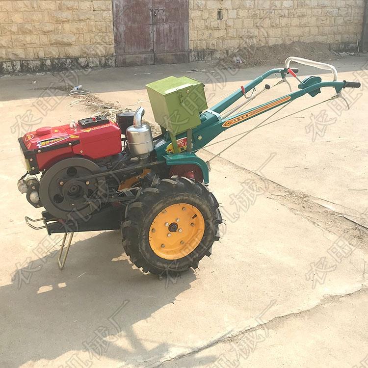农用手扶耕田打地机 柴油多功能大马力拖拉机
