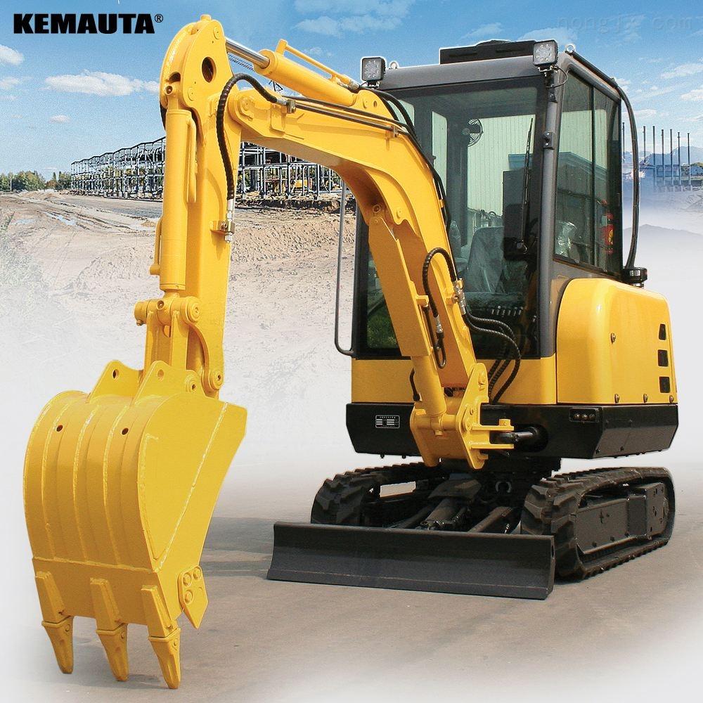 高配置先导操作小型挖掘机