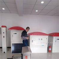 智能机井灌溉玻璃钢井房,节水系统