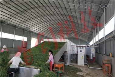 大型牧草烘干机产量