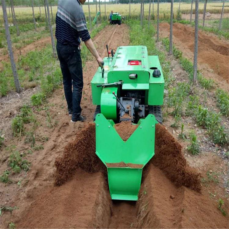 大棚用履带开沟机 起垄机 施肥回填旋耕机