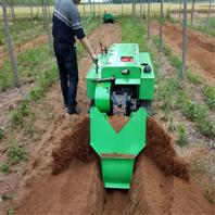 新型履帶式管理機 果園大棚旋耕機開溝機