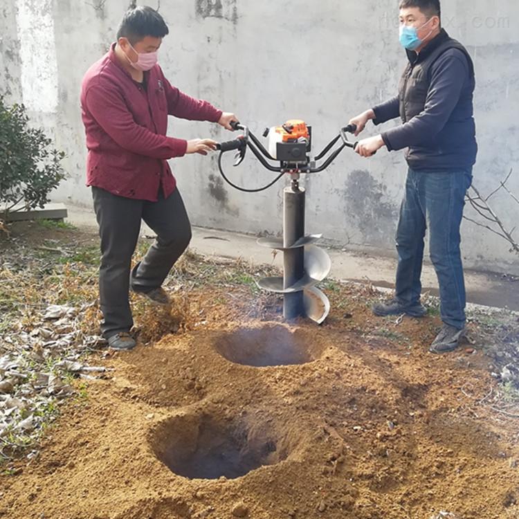 40直径汽油挖坑机种树打坑工具