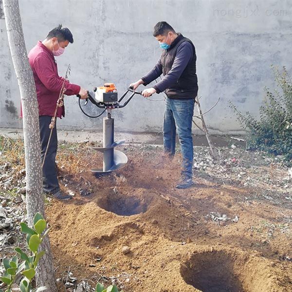 汽油6.8马力挖坑机