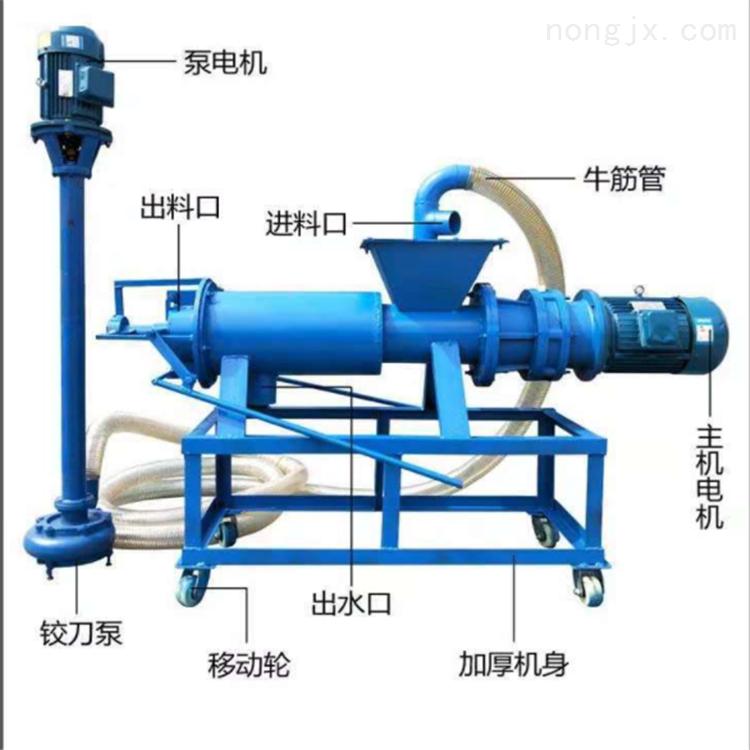 养猪场粪便处理机 泔水分离机 200型脱水机