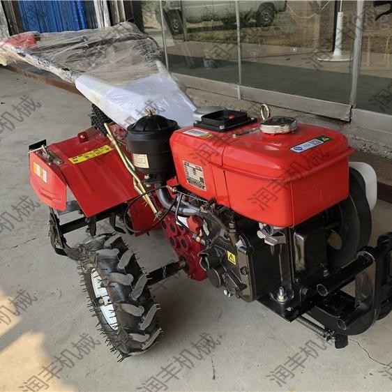 果园开沟施肥机 四驱除草机厂家 小型微耕机