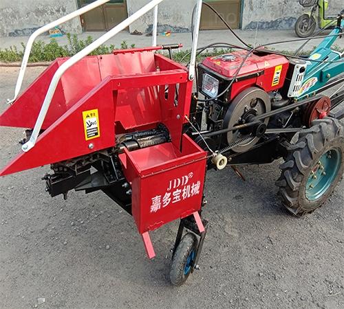 嘉多宝小型玉米收割机手扶拖拉机配套收获机