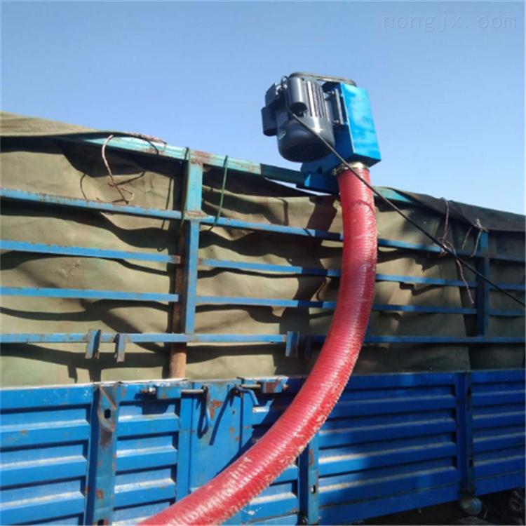 汽油机带动的吸粮机 耐磨软管抽粮机