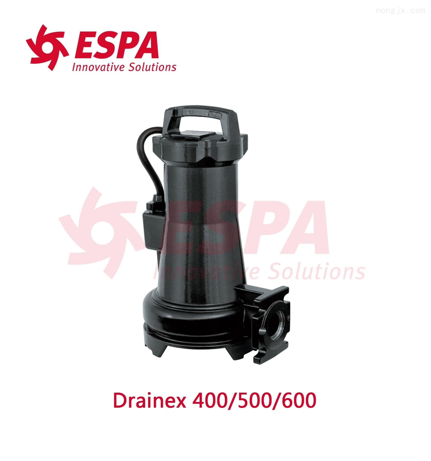 西班牙亚士霸ESPA排污泵Drainex 500/600