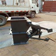 碳鋼板焊接重錘翻板閥