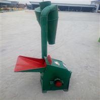 地瓜秧秸稈沙克龍粉碎機自動進料稻草碎草機