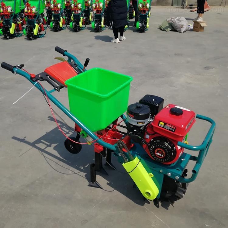 陕西延安家用玉米施肥播种机