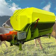 牵引式牛羊草料搅拌机 厂家直销9立方搅草机