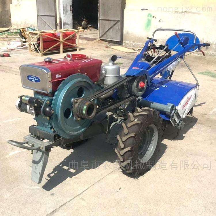 10马力柴油旋耕机 水田旱地两用耕地机带座